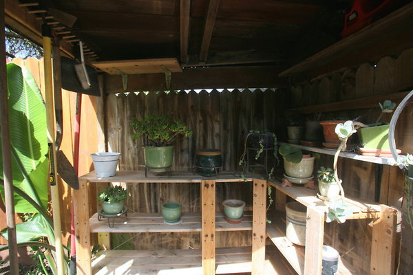 Backyard Garden Shed 0041 1