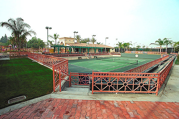 006 Tennis Courts &  Center
